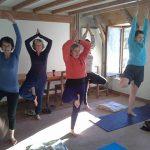 Retraite de Yoga et ski organisée par Nandini Yoga au coeur des volcans de l'Auvergne. Yoga, Méditation et ski.