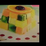 dessert original aux fruits exotiques