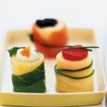 Sushis végétariens à la pomme de terre par Nandini Yoga