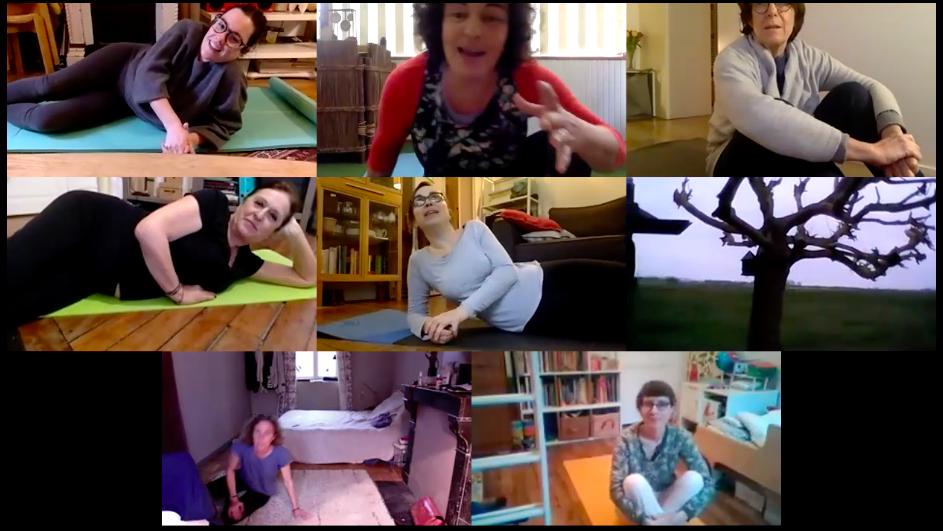 pilates, assouplissement, danse, garez le moral et la forme avec les cours en ligne de Nandini Yoga